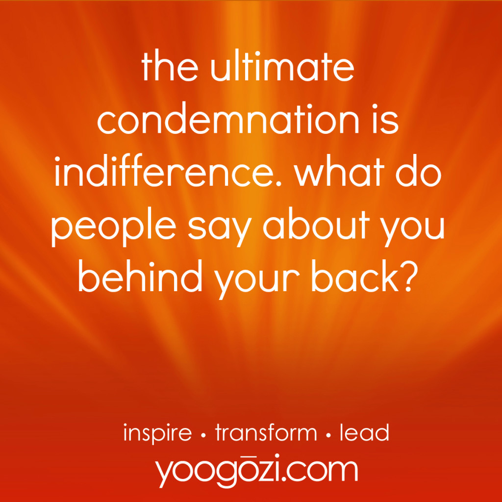 condemnation indifference