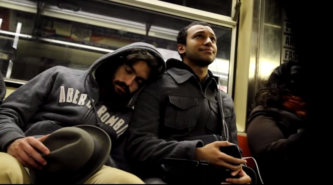Inspirational Video Sleeping on Strangers