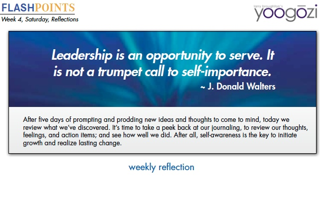 Leadership is an opportunity to serve. It is not a trumpet call to self-importance. J. Donald Walters