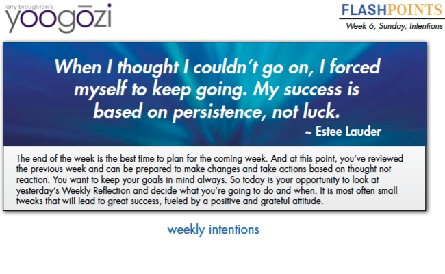 When I thought I couldn't go on, I forced myself to keep going. My success is based on persistence, not luck. Estee Lauder.