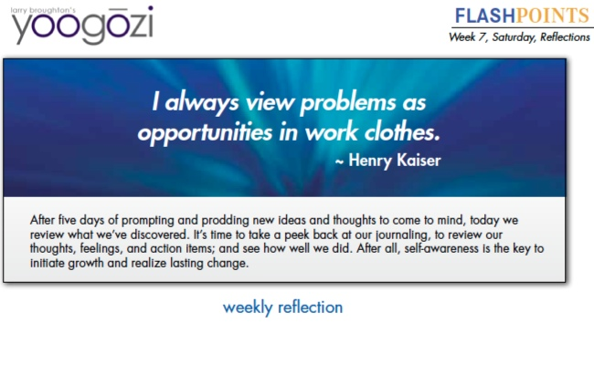 I always view problems as opportunities in work clothes. Henry Kaiser.