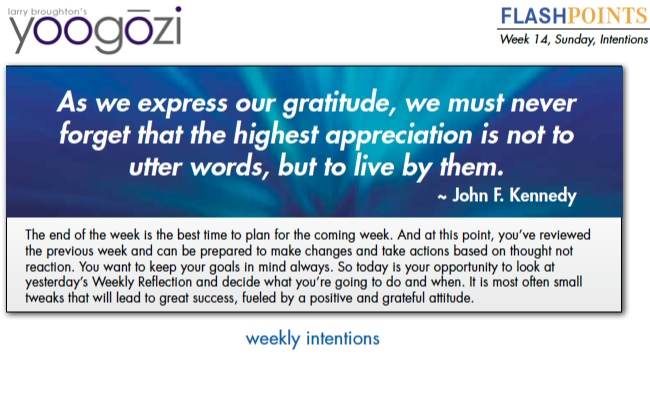 As we express our gratitude, we must never forget that the highest appreciate is not to utter words, but to live by them. John F. Kennedy
