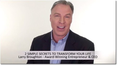 Larry Broughton yoogozi 2 simple secrets for success