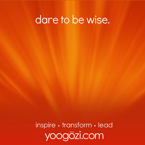 dare to be wise