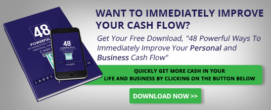 optin for 48 ways to improve cashflow and newsletter larry broughton yoogozi inspiration motivation leadership